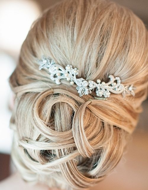 Wedding Hairstyle For Long Hair : chignon wedding hairstyles, low ...
