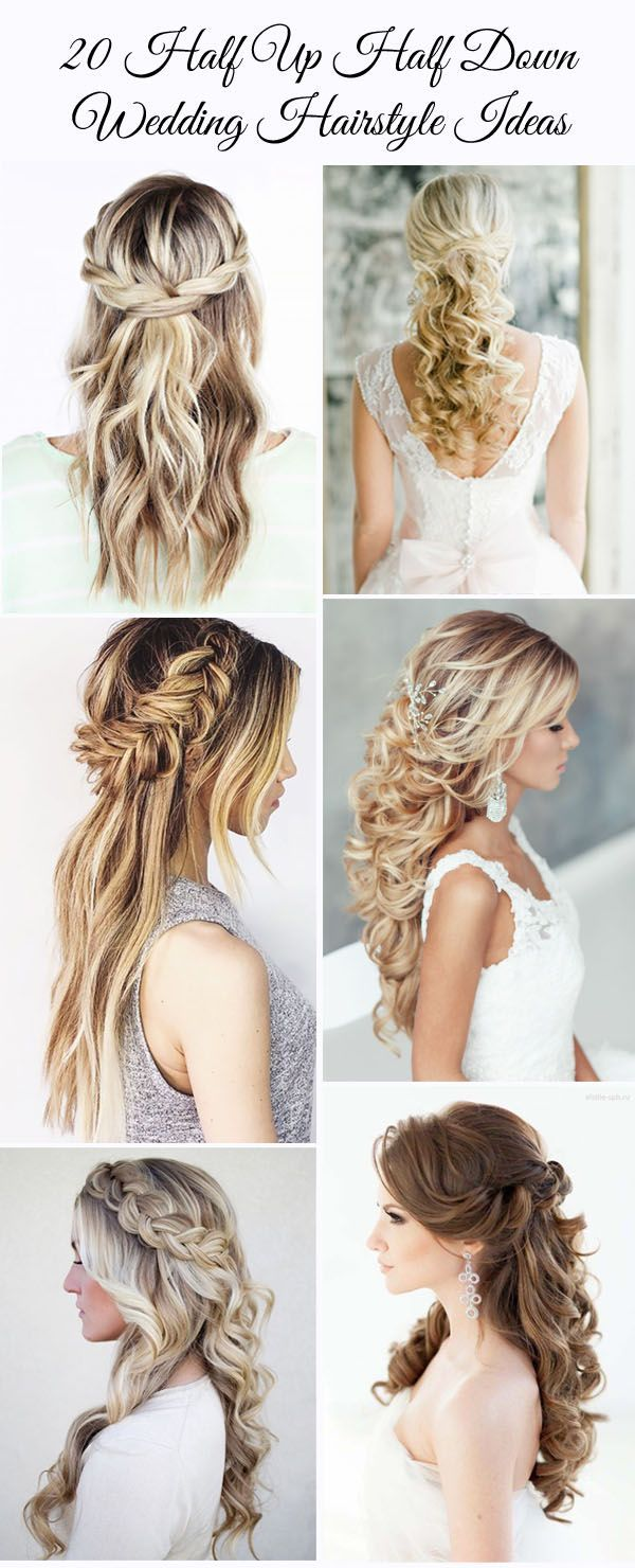 Wedding Hairstyle For Long Hair 20 Awesome Half Up Half Down Wedding Hairstyle Ideas Wedding Lande Leading Wedding Magazine Ideas Inspirations The Hottest New Wedding Trends