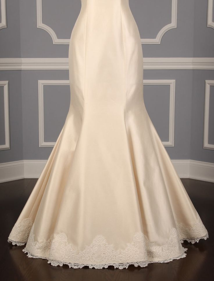 Mermaid wedding dresses romona keveza l366 x discount for Designer wedding dresses at discount prices