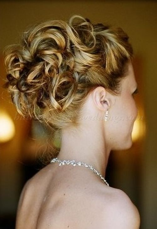 Wedding Hairstyle For Long Hair Curly Wedding Updos Curly