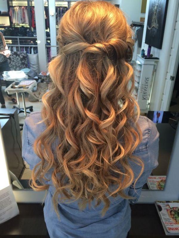 Wedding Hairstyle For Long Hair Half Up Half Down Wedding Hair