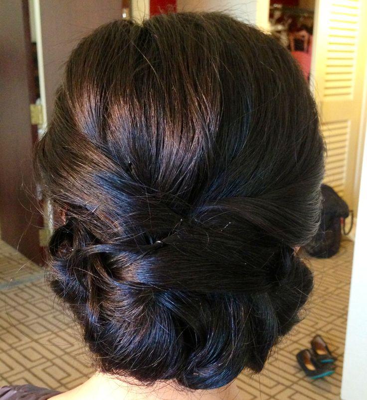 Wedding Updo, Wedding Hair, Updo, Classic Updo, Chignon, Asian Bridal Hairu2026