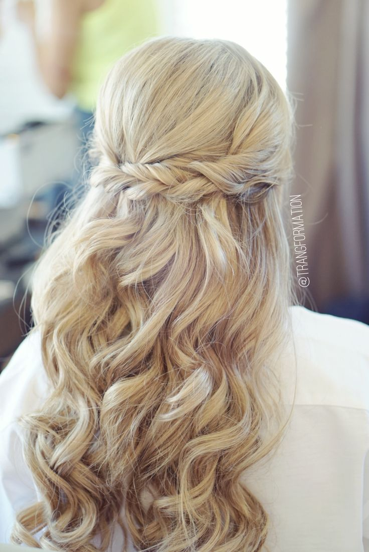 Wedding Hairstyles Half Up Half Down Half Up Half Down