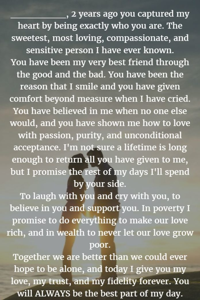 Wedding Quotes Wedding Vows 22 Examples About How To Write Personalized Wedding Vows
