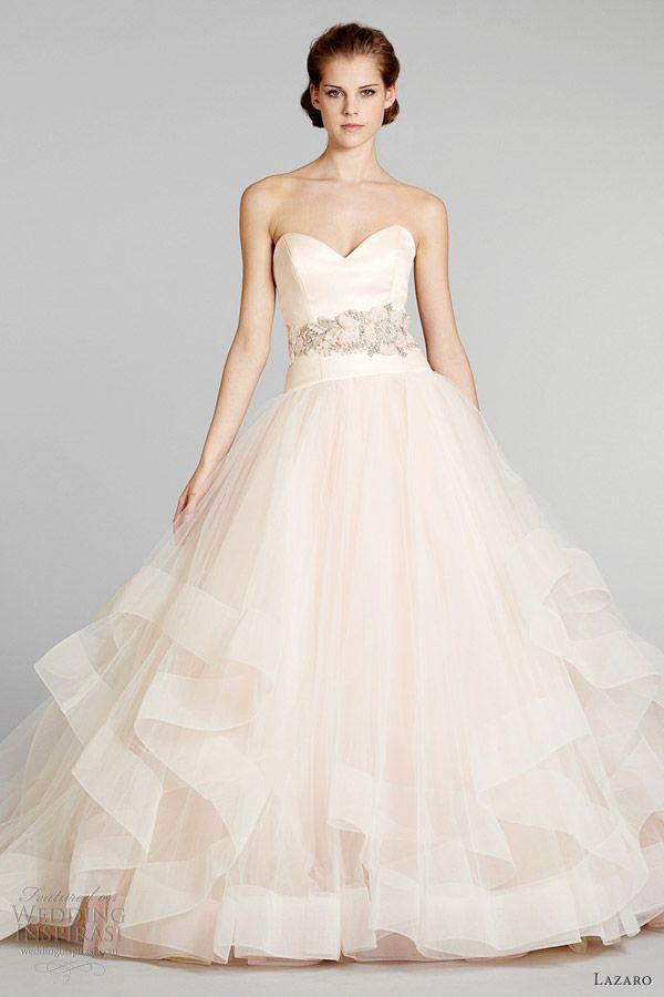 Ball Gown Wedding Dresses  blush pink wedding dress