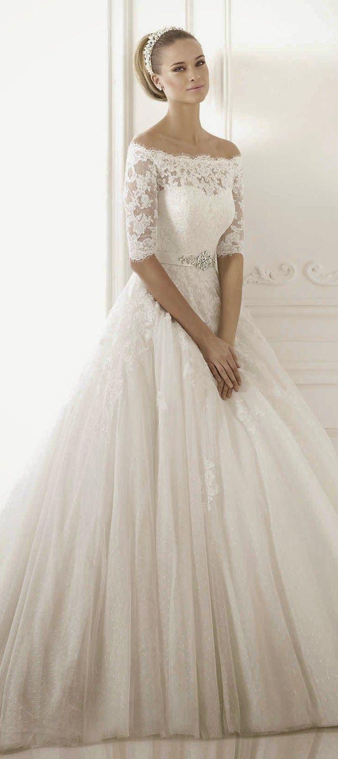 ball gown wedding dresses pronovias 2015 bridal collections part 2. Black Bedroom Furniture Sets. Home Design Ideas