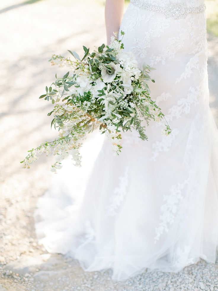 Wedding Bouquets With White Anemone