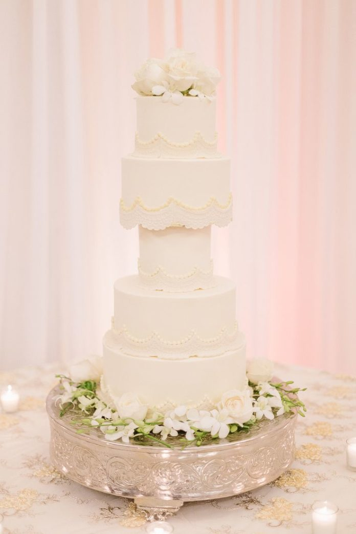 five tier wedding cakes wedding cakes five tier wedding cake wedding planning 14306