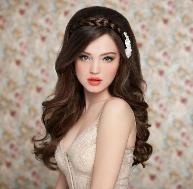 Wedding Hairstyle For Long Hair Cute Bridal Hairstyles For Long