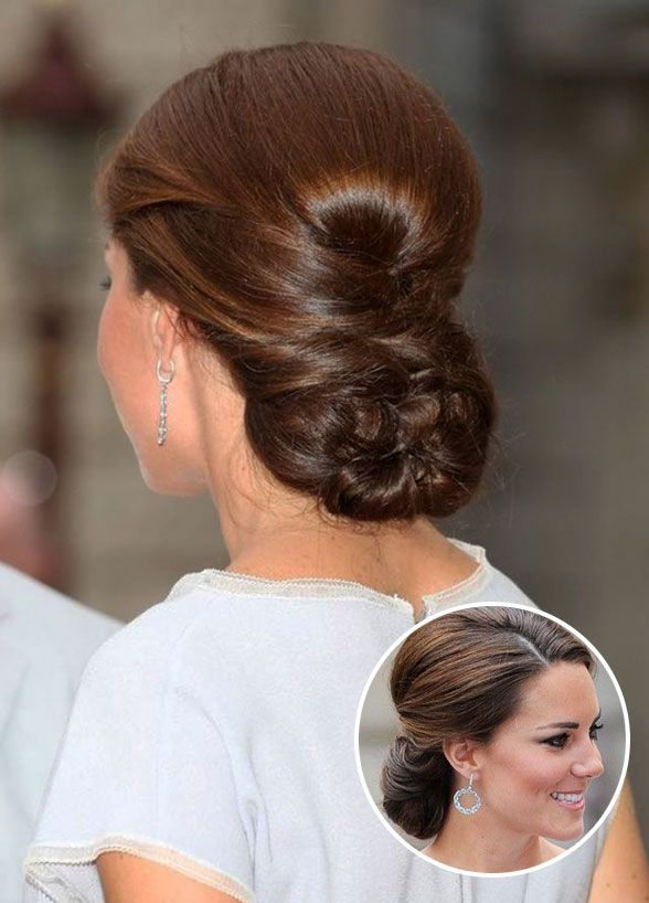 Kate Middleton Perfectly Pulled Together Volume At The Crown And A Braided