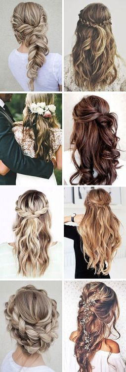 Wedding Hairstyle For Long Hair Tumblr Bog For Prom Dresses And