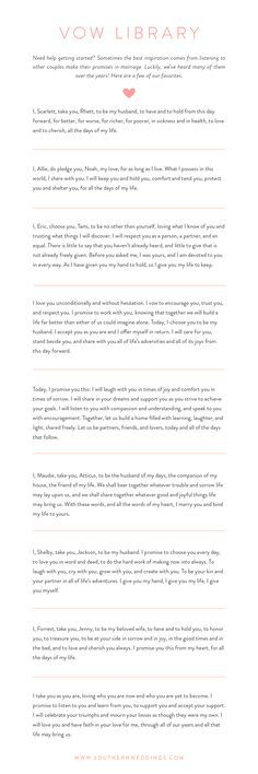 Personal Wedding Vows.Wedding Quotes Find Inspiration For Writing Personal