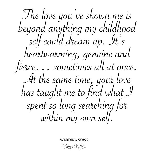 Wedding Vow Ideas For Groom: Wedding Quotes : Wedding Vows From A Hopeless Romantic