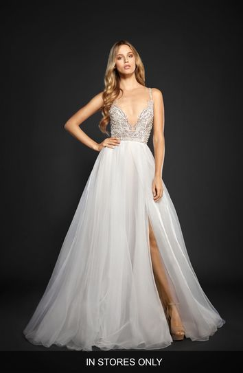 Ball Gown Wedding Dresses : Hayley Paige Kenny Organza A ...