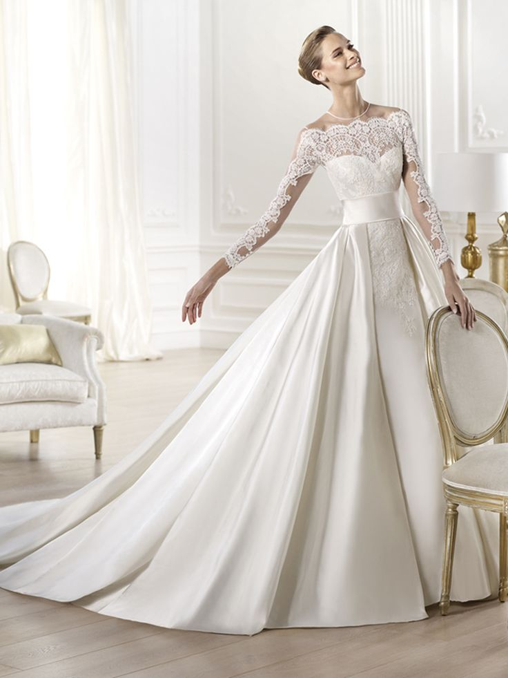 Ball Gown Wedding Dresses : PRONOVIAS 2014 Atelier Collection Yamay ...