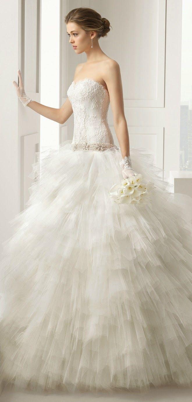 Ball Gown Wedding Dresses Rosa Clara 2015 Bridal