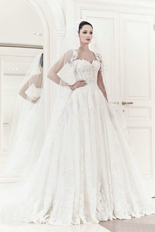Ball Gown Wedding Dresses : Zuhair-Murad-Wedding Dresses Spring 2014 ...