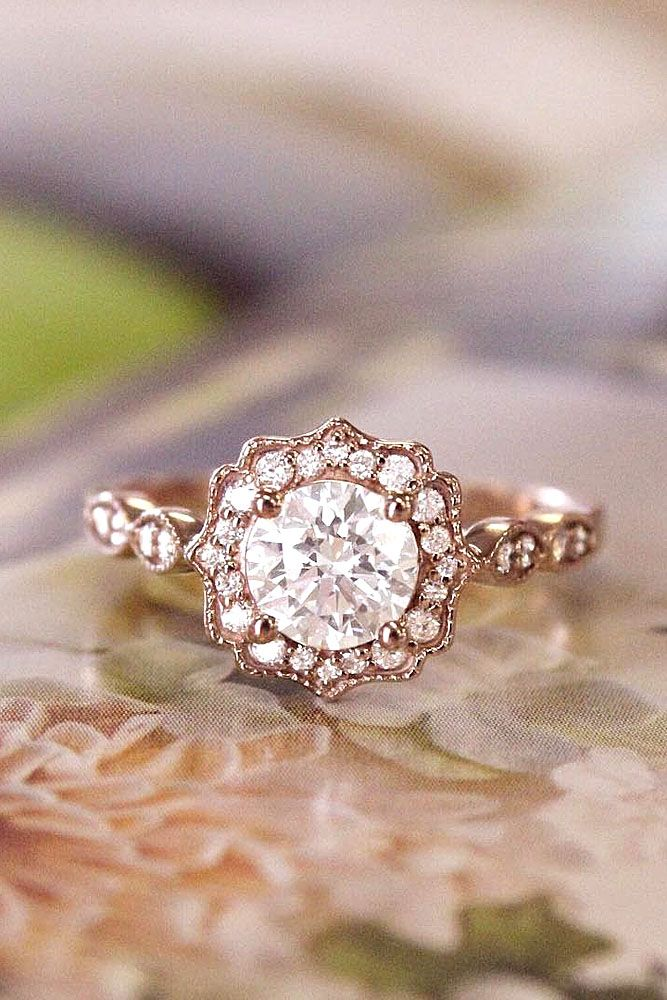 engagement rings 24 dazzling diamond engagement rings of her dreams wedding lande leading. Black Bedroom Furniture Sets. Home Design Ideas