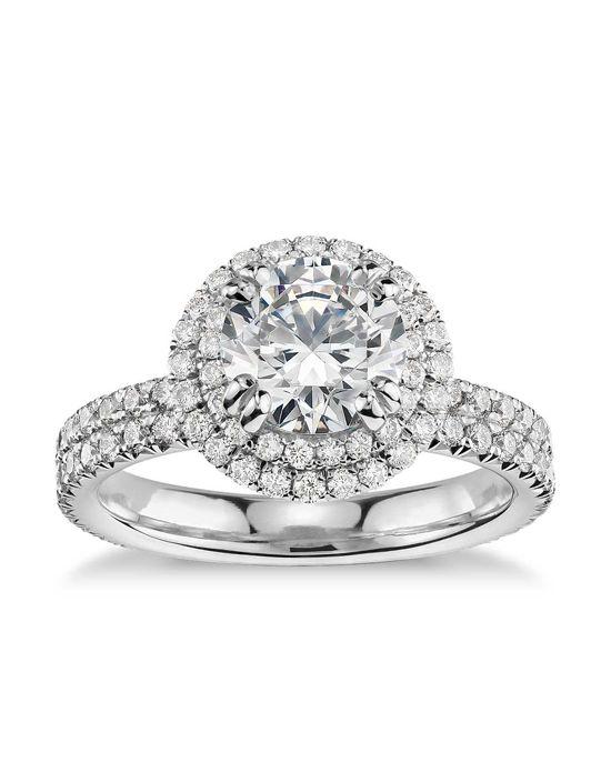 Engagement Rings : Double Halo Gala Diamond Engagement ... - photo #43