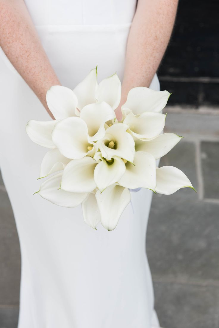 Wedding Bouquets Chic Calla Lily Wedding Bouquet Photography