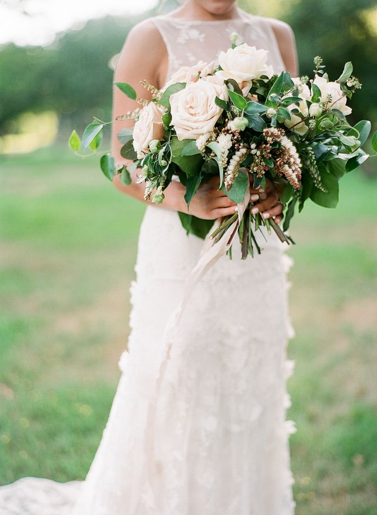 Wedding Bouquets Clematis Dahlia And Rose Wedding Bouquet