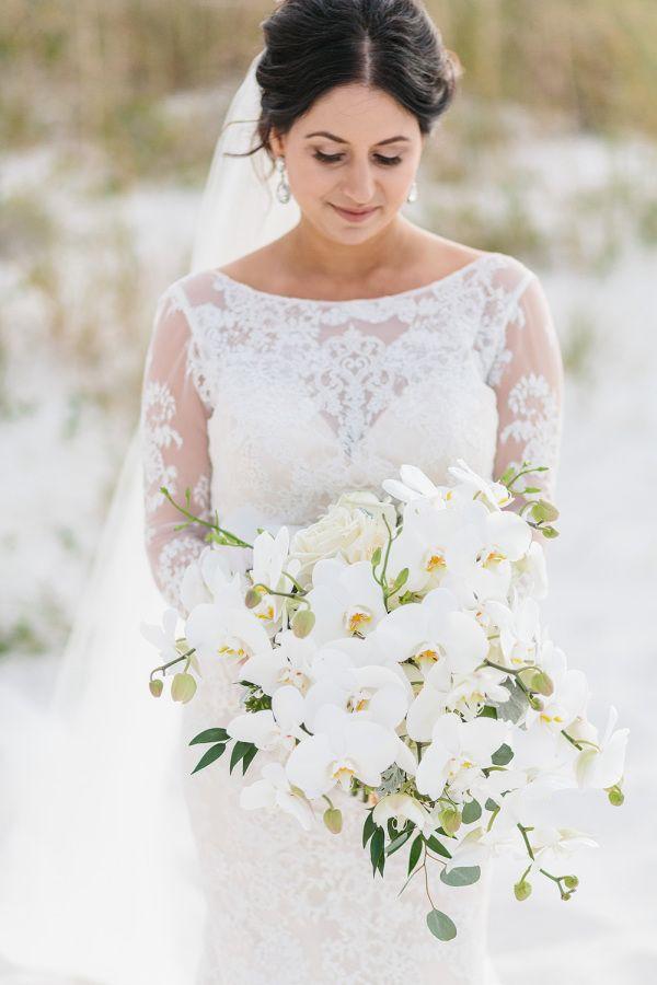 Wedding Bouquets Orchid Wedding Bouquet Www Stylemepretty