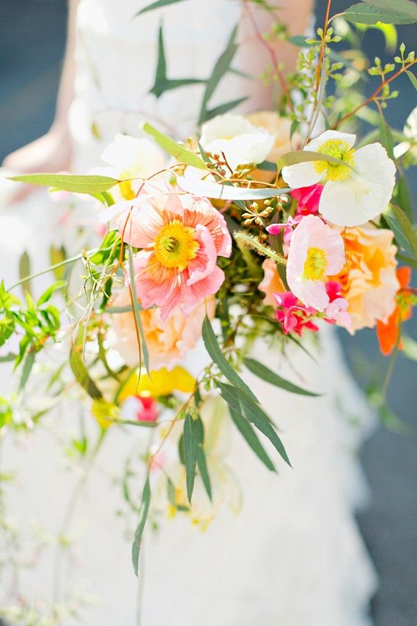 Wedding Bouquets Poppy Wedding Bouquet By Ipomea Floral Design