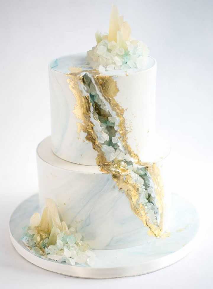 wedding cake sugar crystals wedding cakes sugar realm s geode wedding cake with 25815