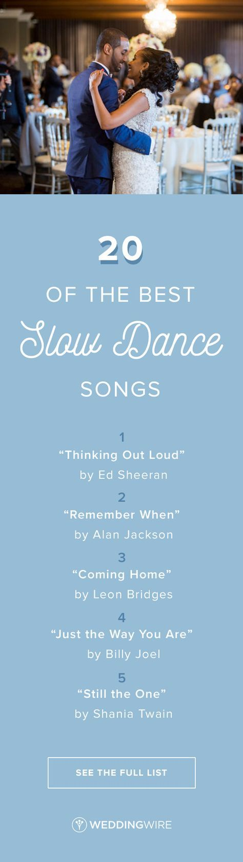 Wedding Quotes : 20 of the Best Slow Dance Songs for Your Wedding ...
