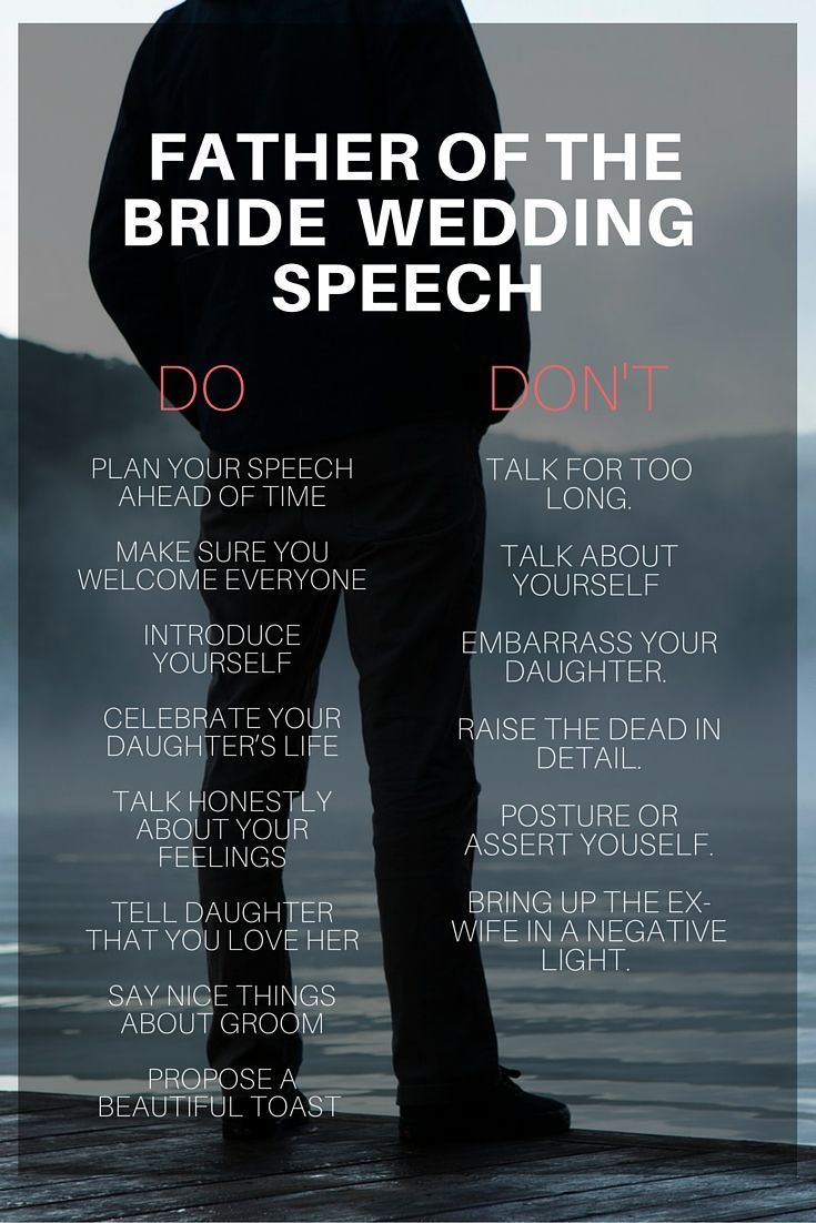 Wedding Quotes Do And Don T Tips For The Father Of The