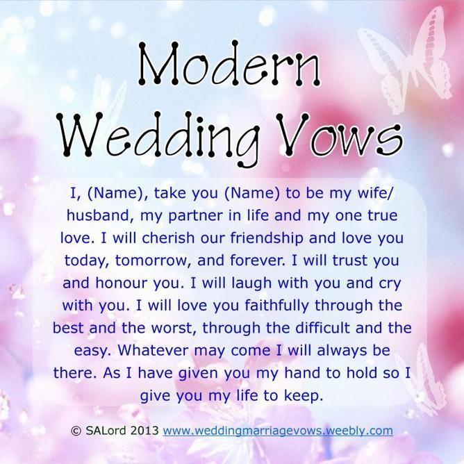Wedding quotes modern wedding vows 11 best photos wedding vows wedding quotes junglespirit Image collections
