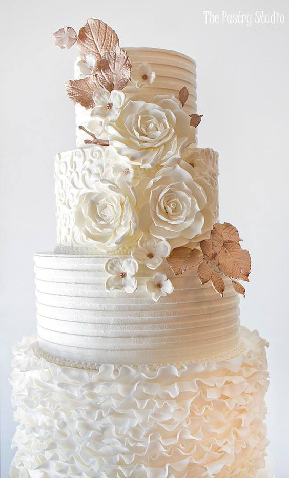 Wedding Cake Design Studio : Wedding Cakes : Featured Cake: The Pastry Studio; Wedding ...