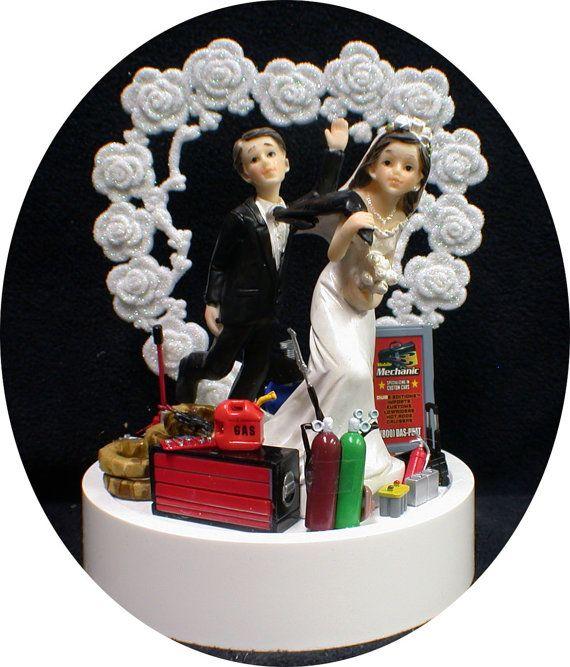 Wedding Cake Topper Limousine