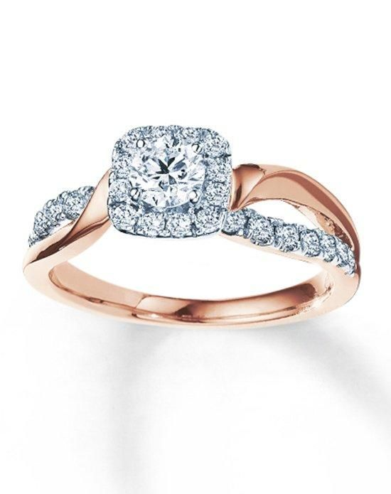 Engagement Rings Kay Jewelers Engagement Ring In Rose Gold With Round Cut I Style 990883100 I Ww Wedding Lande Leading Wedding Magazine Ideas Inspirations The Hottest New Wedding Trends