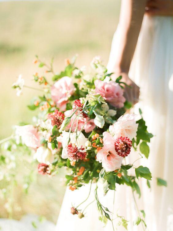 Bouquet Sposa Lisianthus.Wedding Bouquets Lisianthus Scabiosa Nigella Bouquet Www