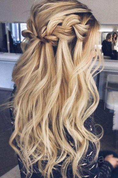Wedding Hairstyles Half Up Down