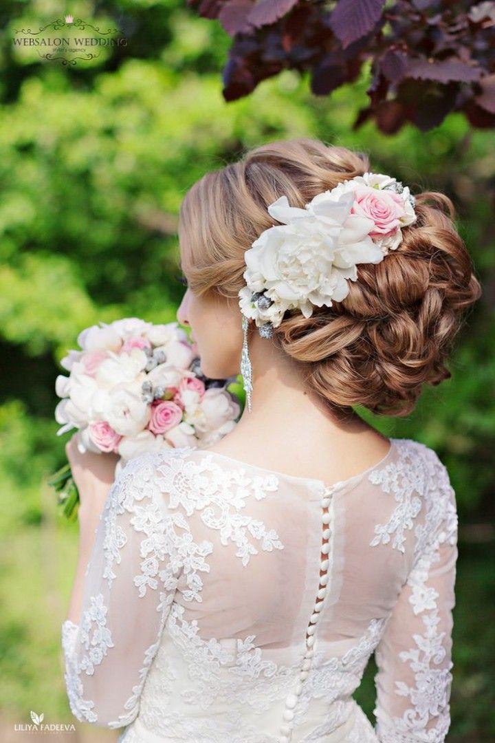 Wedding Hairstyle Glamorous Wedding Hairstyles With Elegance