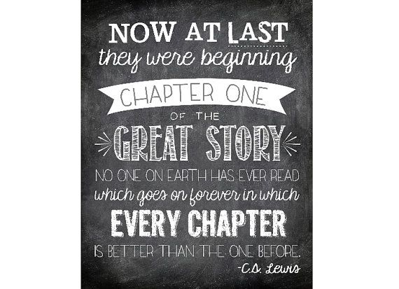 Cs Lewis Quotes On Love Enchanting Wedding Quotes  Now At Last They Were Beginning Chapter One
