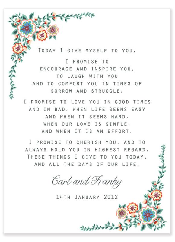 Wedding vows examples image collections wedding dress wedding vows examples gallery wedding dress decoration and refrence wedding vows examples image collections wedding dress junglespirit Gallery