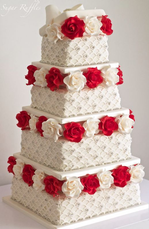 sugar ruffles elegant wedding cakes wedding cakes wedding cake idea featured cake sugar 20586