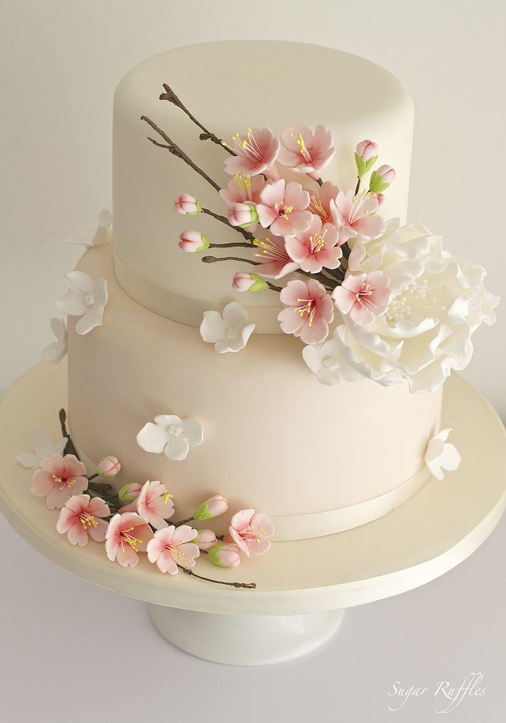 Wedding Cakes Cherry Blossom Cake We This Davidtuteraformon
