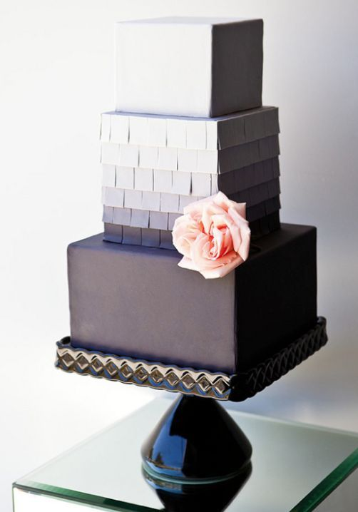modern square wedding cake designs wedding cakes featured cake the butter end cakery 17468