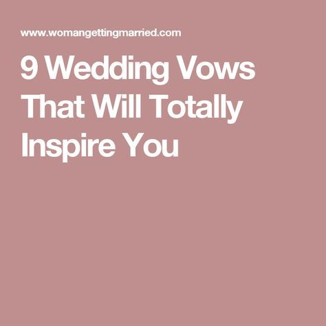 Wedding quotes 9 wedding vows that will totally inspire you wedding quotes junglespirit Image collections