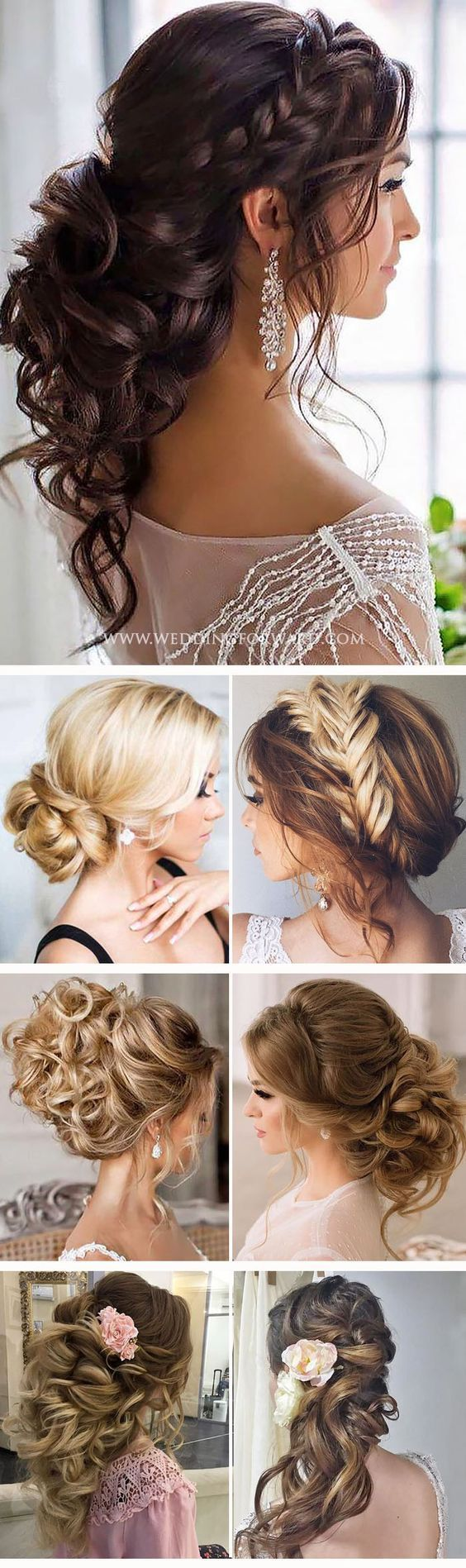Wedding Quotes : Hair inspiration is when we go crazy over chic