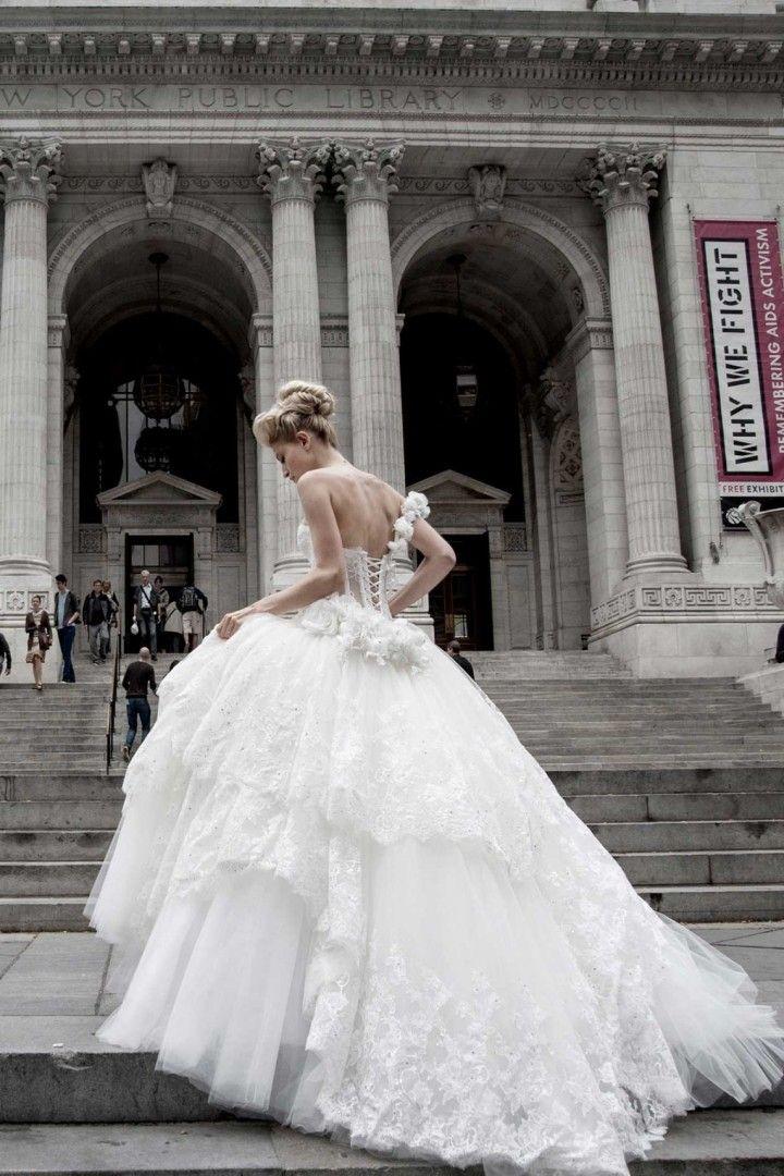 Ball Gown Wedding Dresses : Pnina Tornai wedding dress - Wedding ...