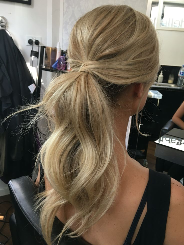 Wedding Hairstyle For Long Hair Pony Tail Hairstyles Bridal Hair Style Messy Ponytail Wedding Lande Leading Wedding Magazine Ideas Inspirations The Hottest New Wedding Trends