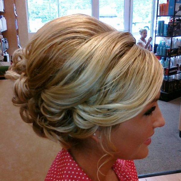 Wedding Hairstyle For Long Hair Pretty Updo Wedding Lande