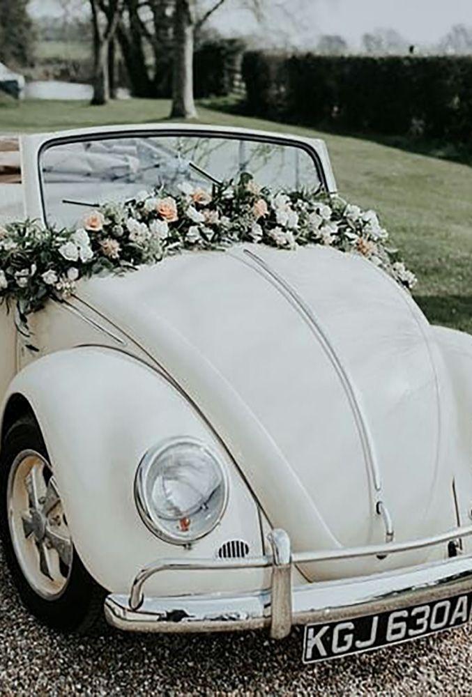 Brides Cars Gorgeous Wedding Car Decoration Ideas See More