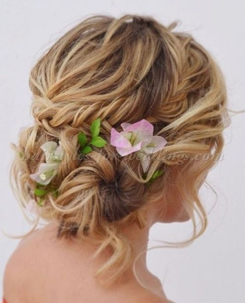 Wedding Hairstyle For Long Hair Beach Wedding Updo