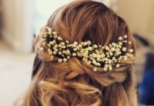 Wedding Hairstyles Half Up Half Down - : Lindsey Reviews: DOTTED ...
